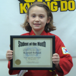 Commerce Choi Kwang Do Student of the Month